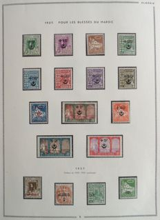 Former French Colonies 1927-1976 - Algeria - Almost complete collection.