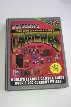 Price Guide McKeown's 1992-1993 and English photographic almanac 1927