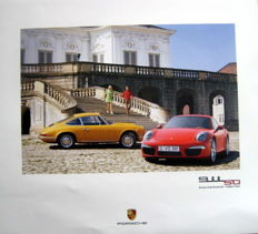 Porsche Affiche/Poster : Porsche 911 - 50 Years of the Porsche 911 - Tradition Future