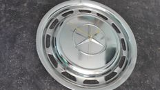 Mercedes Benz * chrome wall clock made from an original hub cap