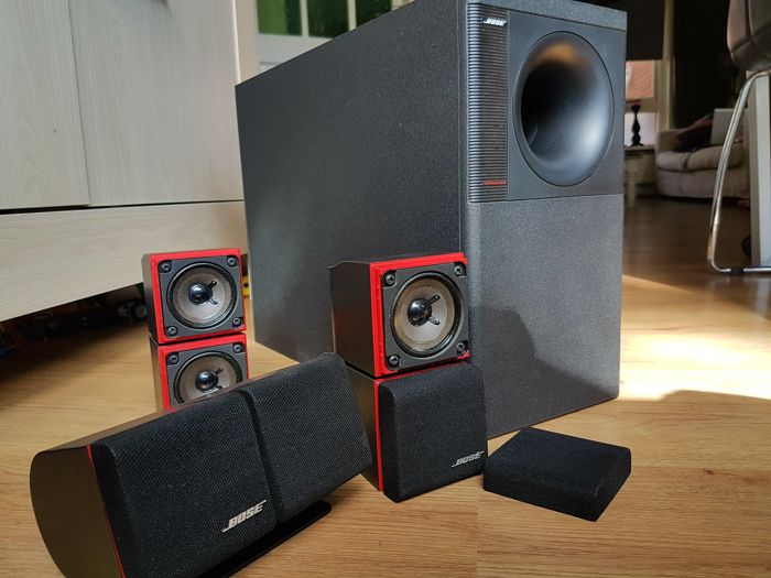 Bose Acoustimass 7 Home Theatre Speaker System Red Line