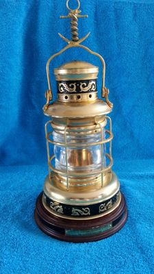 "Franklin Mint ""the maritime ship's lamp"""