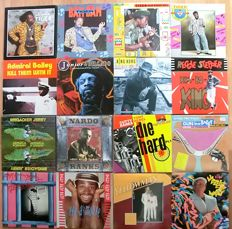 Raggamuffin and dancehall reggae on 16 LP Albums