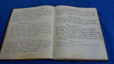 Three handwritten cookbooks - 1894/ 1913