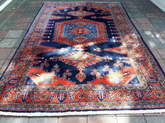 Magnificent large Hand-knotted Persian - Wiss 340cm x  220cm! with Certificate!