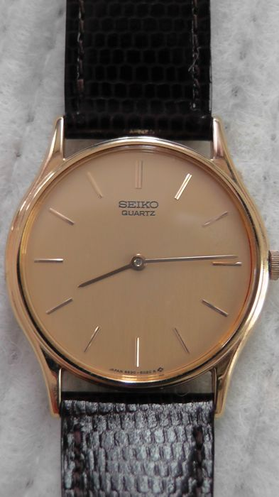 Seiko men's watch - extra flat