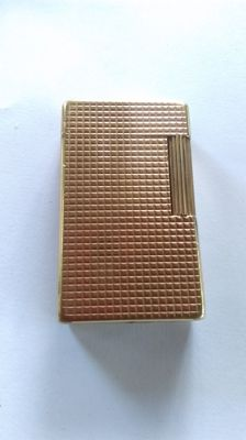 S.T.Dupont lighter - Paris line 1 bs gold plated