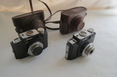 "Lot is presented from two cameras ""Smena"". Production of GOMZ USSR (Russia) in 1952-1957."