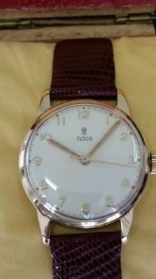 Rolex Tudor - Solid gold watch in perfect condition - A true bargain