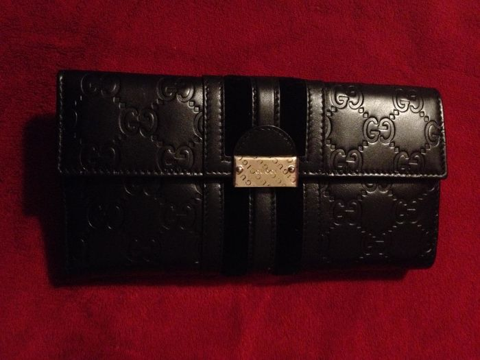 3b295f2fd54 Gucci — Wallet —  No Reserve Price  - Catawiki