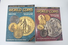 Standard Krause World coins catalogue 1601 - 1700 and 1701 - 1800