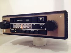 Philips 514 classic car radio from the 1980s Volkswagen