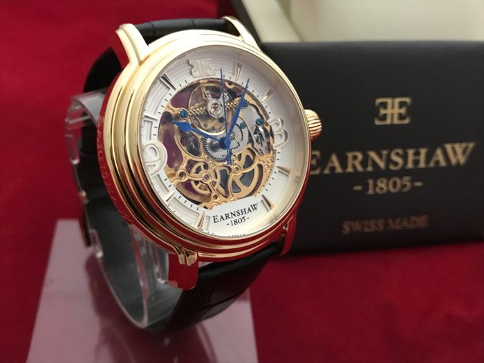 Thomas Earnshaw - Longcase Skeleton Automatic - Heren - 2011-heden