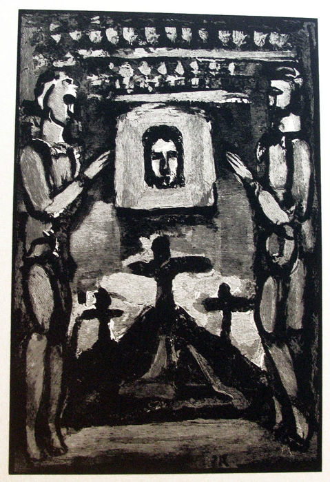 Georges Rouault (after) - Clown Assis