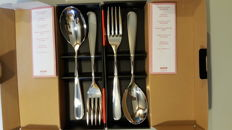 Alessi Nuevo Milano serving set new 2 sets