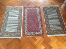 Trio Mir – three oriental rugs in beautiful condition