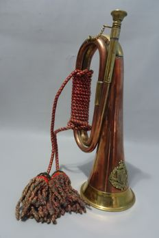 A copper Clarion/ Horn. .