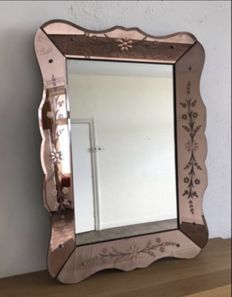 Venetian style wall mirror, second half 20th century
