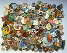 USSR Russia - Lot of 500 pins, different themes