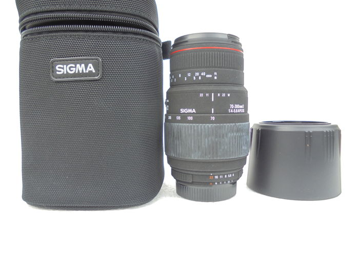 Lens Sigma 70-300mm D  F 1:4-5.6 APO DG year of production unknown