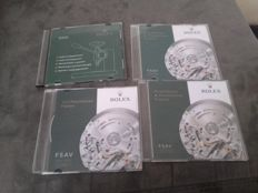 Lot of CDs for Rolex watch repairs
