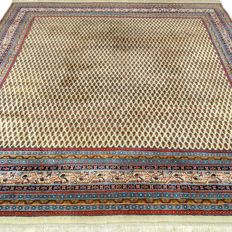 "Square Mir – 251 x 251 cm – ""Modern oriental carpet in beautiful condition"" – With certificate"