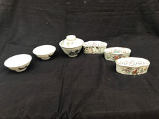 Collection of porcelain - China - late 19th/early 20th century