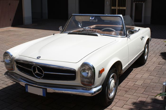 mercedes benz 230 sl pagoda w113 1965 catawiki. Black Bedroom Furniture Sets. Home Design Ideas