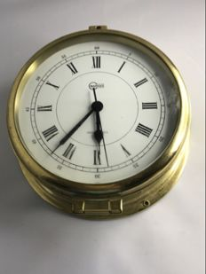 Barigo maritime wall clock with a bell.