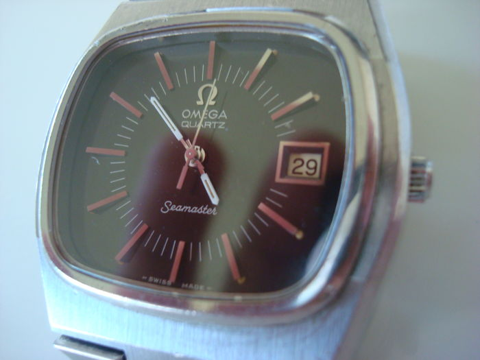 Omega Seamaster - men's watch - Swiss made - TV - case - approx. 70s
