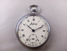 Molnija pocket watch with micro regulator