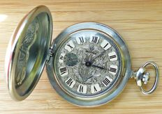 Molnija Special Edition Ride to Live - Live to Ride -- men's pocket watch from the 90s