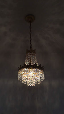 Crystal chandelier - 1960s