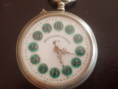 Patent Governor A.B.  Pocket watch.