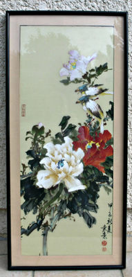 Beautiful painting - China - second half 20th century
