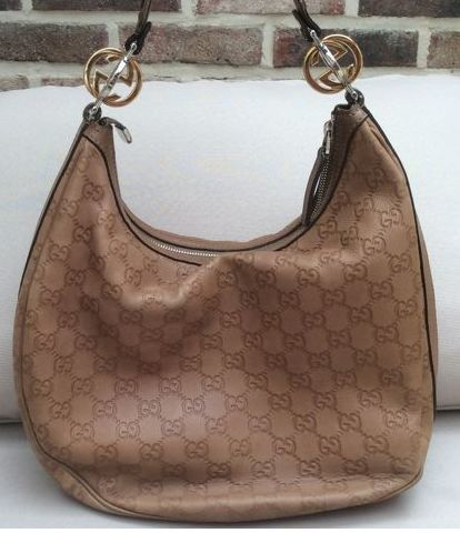 04c515f305d9 Gucci – Guccissima Leather GG Twins Large Hobo Bag - Catawiki