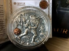 Niue - 5 Dollars 2017 'Ancient Myths / Minotaur' - 2 oz Silver