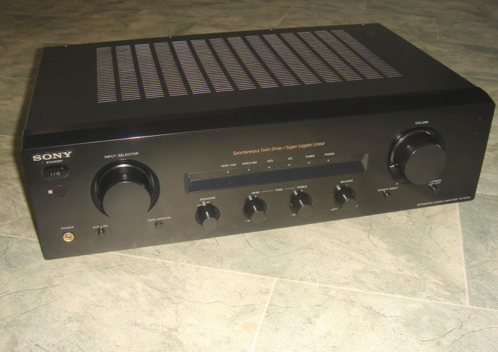 SONY TA-FE570 AMPLIFIER