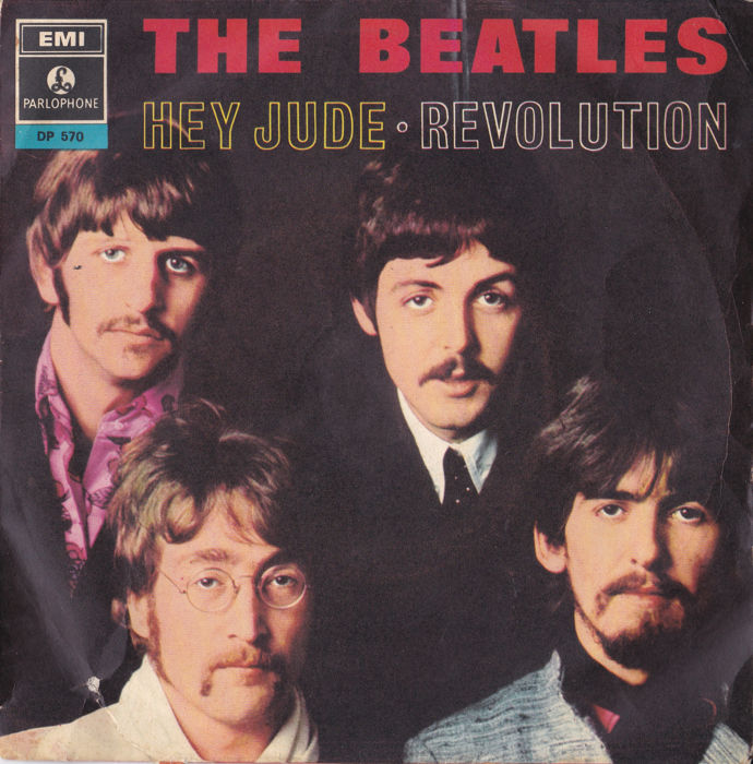 20  45's The Beatles + solo members all mint to m- + ps/vg to nm