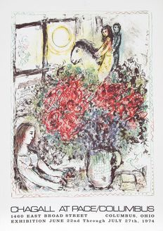 Marc Chagall - Pace Gallery, Columbus - 1974/76