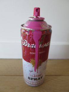 Mr Brainwash - Spray Can (Pink)