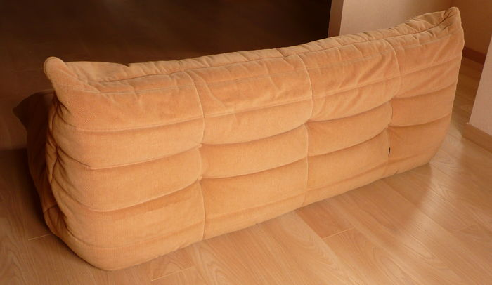 Michel Ducaroy For Ligne Roset 3 Seat Sofa In Fabric Model Togo