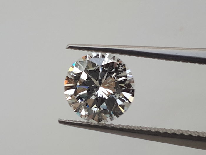 1.39 ct brilliant cut diamond colour G HRD certificate and free shipping!