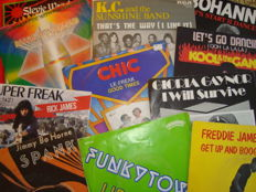"Great Lot: 45 Of The Greatest Funk & Disco Classics ever on 7"" vinyl !!!"
