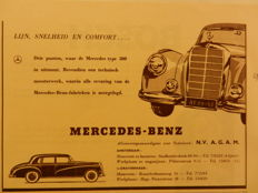 50 MERCEDES-BENZ advertisements 1950s and 1960s