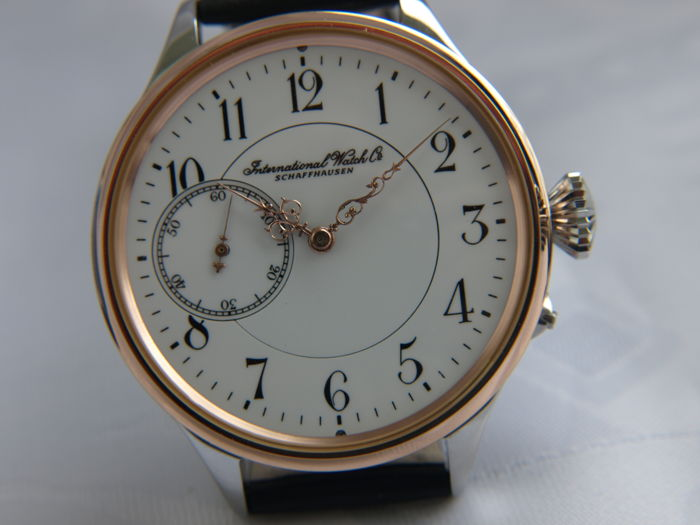 2 IWC Schaffhausen marriage men's wristwatch 1886-1887