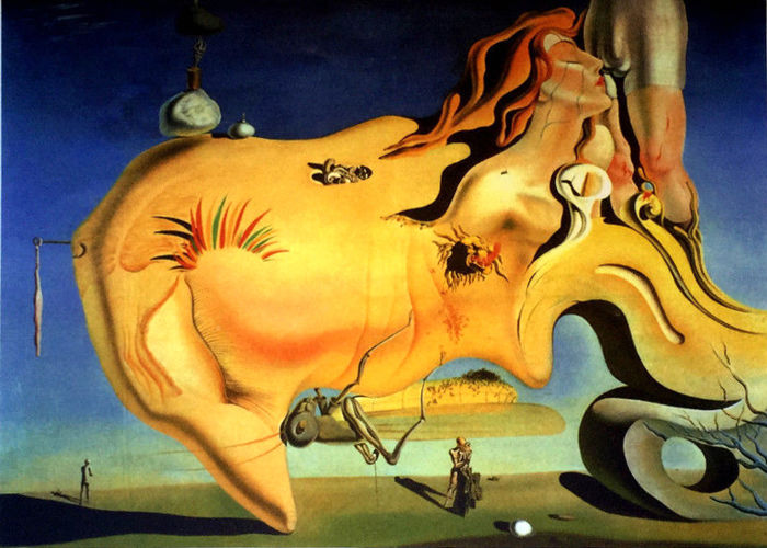 Salvador Dalí (after) - El Gran Masturbador - The Great Masturbator