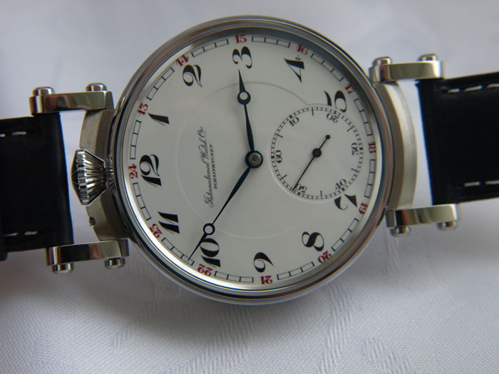 12 IWC Schaffhausen marriage men's wristwatch