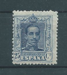 Spain 1922/1930 – Alfonso XIII, Vaquer style. Value not issued. Graus certificate – Edifil No. 759M