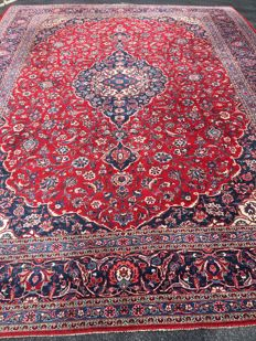 Large Persian Keshan! Very valuable! Investment! Oriental carpet, hand-knotted